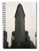 Flatiron Building - Nyc Spiral Notebook