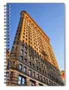 Flatiron Building Profile Too Spiral Notebook