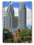 Flatiron Building Toronto 2 Spiral Notebook