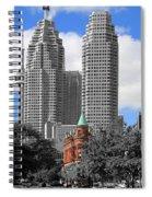 Flatiron Building Toronto 2c Spiral Notebook
