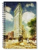 Flatiron Spiral Notebook