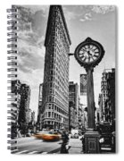 Flatiron Rush Spiral Notebook
