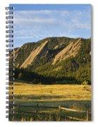 Flatirons From Chautauqua Park Spiral Notebook