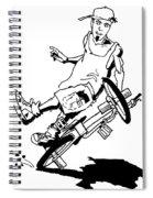Flatlander Spiral Notebook