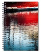 Red Boat Serenity Spiral Notebook