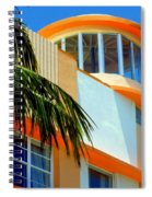 Flavour Of Miami Spiral Notebook