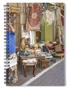 Flea Market Shop In Tel Aviv Israel Spiral Notebook