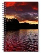 Fleeting Beauty Spiral Notebook