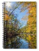 Fleeting Fall  Spiral Notebook