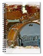 Fleetwood's Drums Spiral Notebook