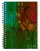 Fleur Spiral Notebook