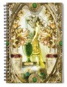 Fleurdelys Spiral Notebook