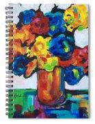 Fleurs De Vigne Spiral Notebook
