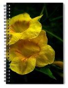 Fleurs Jaunes Spiral Notebook