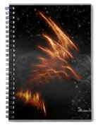 Flight Of The Eagle - Featured In Comfortable Art And Spect Artworks Notecard Possibilities  Spiral Notebook