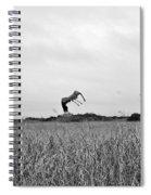 Flight Over The River Of Grass Spiral Notebook