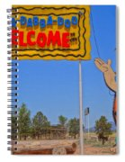 Flinstones Bedrock City In Arizona Spiral Notebook