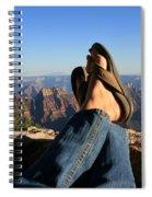 Flip Flop View Spiral Notebook