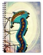 Flippers Facination - Wildwood Boardwalk Spiral Notebook