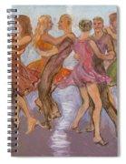Flirtation Reel Spiral Notebook