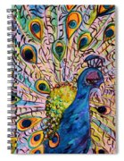 Flirty Peacock Spiral Notebook