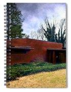 Fllw Rosenbaum Usonian House - 1 Spiral Notebook