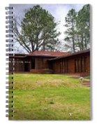 Fllw Rosenbaum Usonian House - 4 Spiral Notebook