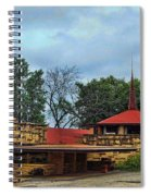 Fllw Welcome Center - Spring Green- Wisconsin Spiral Notebook
