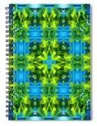 Float 3 Excerpt Design Spiral Notebook