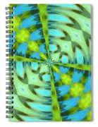 Float 4 Pattern Spiral Notebook
