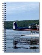 Float Planes On Keuka Spiral Notebook