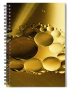 Floating Beauty Spiral Notebook