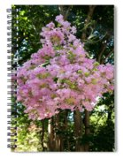 Floating Flowers Spiral Notebook