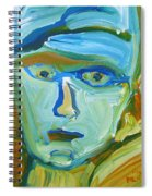 Floating Head Spiral Notebook