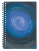 Floating Blues Spiral Notebook