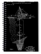 Floating Oil Rig Patent Spiral Notebook