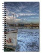 Floating Restaurant Spiral Notebook