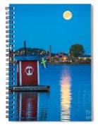 Floating Sauna Spiral Notebook