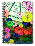 Floating Umbrellas In Las Vegas  Spiral Notebook