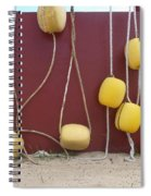 Floats At Chileno Bay Spiral Notebook