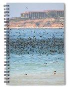 Flocking At Terranea Spiral Notebook