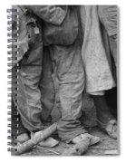 Flood Refugees, 1937 Spiral Notebook