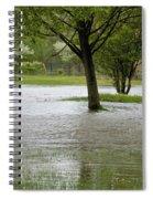 Flooded Park Spiral Notebook