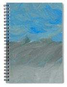 Flooding At Lone Pine Spiral Notebook
