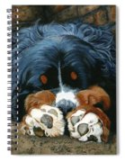 Flop Those Lips Fast Asleep Extra Ventilation Spiral Notebook