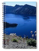 Flora Of Crater Lake Spiral Notebook