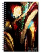 Floral Abstract I Spiral Notebook
