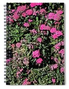 Floral Afternoon Spiral Notebook