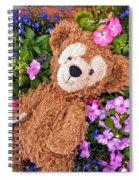 Floral Bear Spiral Notebook
