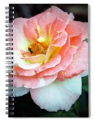 Floral Bee Spiral Notebook